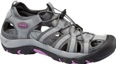 Nevados Womens Breeze Steel/Frost/Meadow Mauve Leather-And-Mesh Sandals 10 Nevados. $49.95