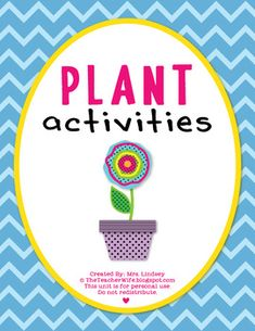 This 61-page packet is perfect for teaching your students {K-2} all about PLANTS!!This product includes:-Lesson suggestion to teach plant par...