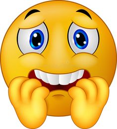 Illustration about Illustration of Cartoon Scared emoticon smiley. Illustration of facial, shiny, scared - 46947803 Animated Smiley Faces, Emoticon Faces, Funny Emoji Faces, Animated Emoticons, Funny Emoticons, Memes Funny Faces, Happy Emoticon, Love Smiley, Emoji Love