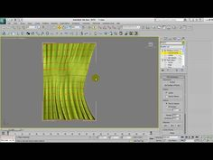 This is a modeling tutorial for studio max This tutorial shows you how you model a curtain in Max using several modifiers and layer techniques. 3d Max Tutorial, 3d Max Vray, 3d Studio, Drawing Projects, Design Your Home, 3d Modeling, 3d Animation, 3ds Max, Autocad