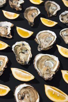 Yum Y U M !   #oysters & #lemons - sumally.com