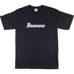 Ibanez Classic Logo T-Shirt Black Large