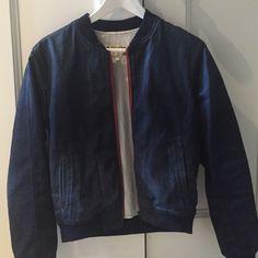 Denim rag and bone bomber jacket So cute! Denim rag and bone bomber jacket rag & bone Jackets & Coats