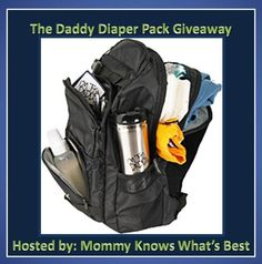 Win It!: Daddy Diaper Pack Giveaway ~ Trendy Mom Reviews- The Daddy Scrubs website has the cutest gifts for new dads!