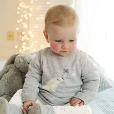 Buy Baby > Baby Girls Clothing > Polar Bear Jumper from The White Company