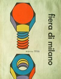 copertina di Dante Vernice (1956), volume annuale Fiera di Milano