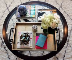 Marcus Design: {joy & revelry: white box challenge}; Gorg silverleaf tray from @Jò in Wonderland and Revelry