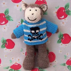 lots of knitted toy ideas