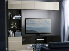 Unusual design tv furniture ikea tv stands entertainment centers ikea build your own besta system uk hack canada room consoles armoire Entertainment Stand, Small Spaces, Ikea Tv Stand, Media Furniture, System Furniture, Tv Furniture, Wall Entertainment Center, Ikea Entertainment Center, Ikea Furniture