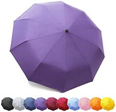 Esprit Regenschirm Neu Kompakt Taschenschirm khaki