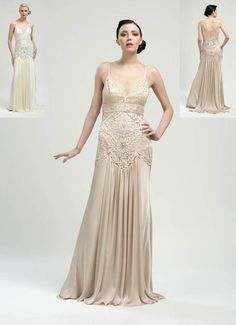 Sue Wong 1920s inspired gowns-I think this one is my favorite