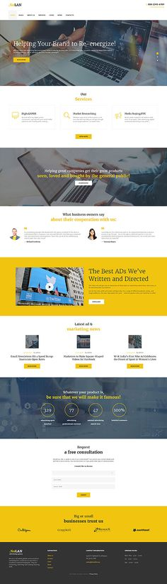 Brand Design & Consulting Services #Wordpress #template. #themes #business #responsive #Wordpressthemes