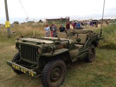 Original USMC jeep @ war and peace. We still had the final version of this jeep when I was in. I drove one for a couple years before we transitioned to the hummers.