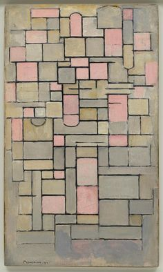 Piet Mondrian Title Composition 8 Work Type Painting Date 1914 Material Oil on…