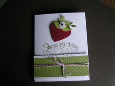 Stampin Kat: Spring time is Strawberry Time.......