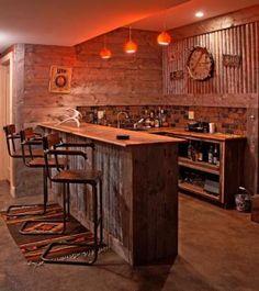 Bar: Timber-Frame Home in Ellicottville, N.Y. - ERA Team VP Real Estate - listing agent Amy DeTine - $1,600,000