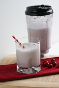 Cranberry Almond Smoothie