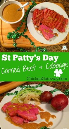 St Pattys Day Corned Beef and Cabbage - ChickenGateway.com