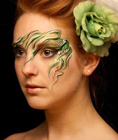 Eye Dare You - Adult Facepainting - Gallery 1