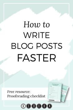Prior to a few weeks ago, I found writing blog posts daunting. This fear  would cause me to procrastinate, and in turn, never get around to writing  the blog post (yes, I'm my own worst enemy).  I'm also someone who works well with tips and tricks. In trying to figure  out how to get better at