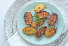 Eine vegetarische Grillparty, Rosmarin Kartoffeln, vegetarisch grillen, vegetarian bbq