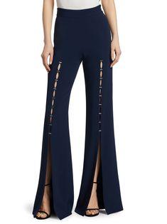 Fashion Pants, Fashion Dresses, Fall Pants, Pantalon Large, Blouse And Skirt, Dress To Impress, Pants For Women, Jonathan Simkhai, Street Style