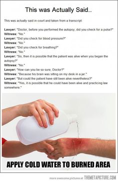 funny lawyer vs doctor court