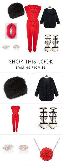 """contest"" by shaniamelville-1 on Polyvore featuring Surell, River Island and Marie Hélène de Taillac"