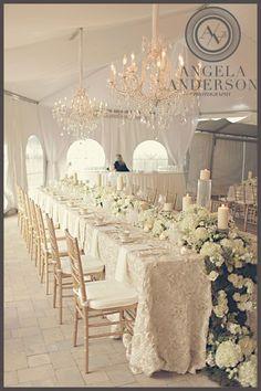 florals & chandeliers