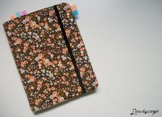 My Own Landscape Dreams: Capinha de tecido removível para personalizar cadernos e agendas