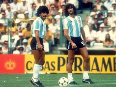 Maradona y Kempes