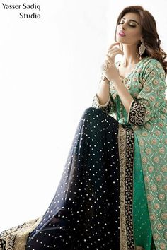 rizwan Ahmed is a well known fashion designer. Recently, Rizwan Ahmed formal dresses 2014 for women have been launched. have a look. Pakistani Couture, Pakistani Bridal Wear, Pakistani Wedding Dresses, Pakistani Outfits, Indian Outfits, Bridal Dresses, Eastern Dresses, Desi Clothes, Indian Attire