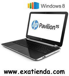 """Ya disponible NB HP PAVILION 15 N008SS I3 3217U/4GB/500GB/15.6""""/W8/64     (por sólo 550.75 € IVA incluído):   -Procesador:Intel Core i3-3217U / 1,8 GHz -Memoria:4GB DDR3 (max. 8GB) -Hdd:SATA de 500 GB 5400 rpm -Óptico:SuperMulti DVD±RW con soporte de doble capa -Pantalla:TFT LED 15.6"""" HD BrightView (1366 x 768) -Graficos:AMD Radeon HD 8670M (DDR3 dedicada de 1 GB) -Webcam:Integrada -Conectividad: *Lan:10/100 BASE-T Ethernet LAN integrada *Wifi:802.11b/g/n *Bluetooth:(no"""