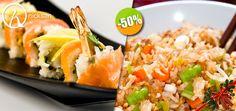 Nicksan en Nuevo Vallarta - $177 en lugar de $355 por 1 Rollo Especial del Menú + 1 Yakimeshi de Verduras + 1 Copa de Vino de la Casa ó 1 Limonada