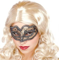 Gold Lace Mask