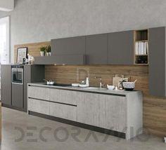 #kitchen #design #interior #furniture #furnishings  комплект в кухню Arredo3 Kali, AK5LC