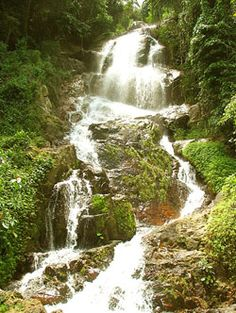 Koh Samui Waterfalls. At Luxury Villa Rentals Koh Samui our aim is to provide our guests with deluxe hotel services within the privacy and space of your own luxury villa at Choeng Mon Beach, Koh Samui. Find out more information by visiting our site at http://luxuryvillarentalskohsamui.com/