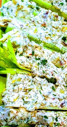 Mom's Stuffed Celery a.a Celery Crack (Ketogenic, low-carb) Celery Snacks, Celery Recipes, Vegetable Recipes, Best Nutrition Food, Health And Nutrition, Health Tips, Nutrition Websites, Nutrition Pyramid, Health Care