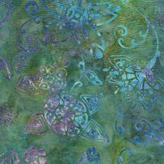 Island Batik Rayon - Lotus Pond