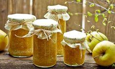 Konfitura jabłkowo - pomarańczowa #recipe Dr. Oetker Polska Pickels, Fruit Water, Cookie Desserts, Chutney, Custard, Food Dishes, Jelly, Diy And Crafts, Healthy Recipes