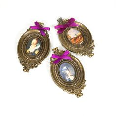 Hey, I found this really awesome Etsy listing at https://www.etsy.com/listing/234191675/victorian-portrait-miniatures-wall-art