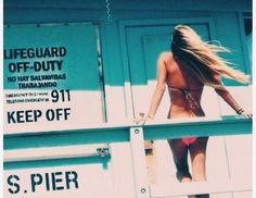 Lifeguard off duty. #surf #planetblue