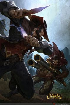 Official Poster Twisted Fate Vs Graves