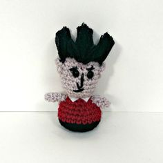 Wilson from Don't Starve Amigurumi Crochet by KnotYourHooker, $5.22