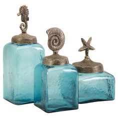 Sea Life Canister Set, I would love this for my kitchen!