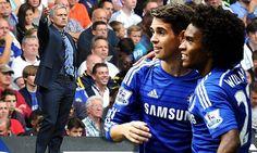 Mourinho concerned about Samba stars despite Chelsea's flying start