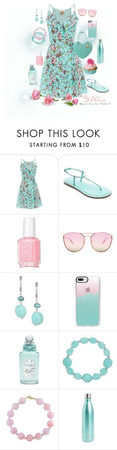 """Untitled #134"" by loves-fashion-style ❤ liked on Polyvore featuring Royal Worcester, Bernardo, Valentino, Essie, Quay, The Sak, Casetify, PENHALIGON'S, Effy Jewelry and S'well"