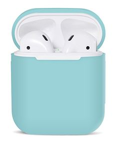 Christmas Stocking Stuff er Gift idea for wireless ear buds? PodSkinz AirPods Case Protective Silicone Caser and Skin for Apple Airpods Charging Case (affiliate link) Cute Ipod Cases, Iphone Cases, Apple Earphones, Best Travel Gifts, Bluetooth, Accessoires Iphone, Earphone Case, Air Pods, Airpod Case