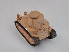 KAIYODO CapsuleQ Capsule Q WTM World Tank Museum Series 2 Deform Style Vehicle Japan Type 89 medium tank I-Go Sand