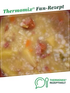 Geli's pearl barley soup from A Thermomix ® recipe from the soups category on www.de, the Thermomix ® Community. Paleo Butternut Squash Soup, Easy Vegan Soup, Vegan Thanksgiving Dinner, Coconut Milk Recipes, Barley Soup, Soup Recipes, Pearl Barley, Vegetarian Protein, Apple Cake